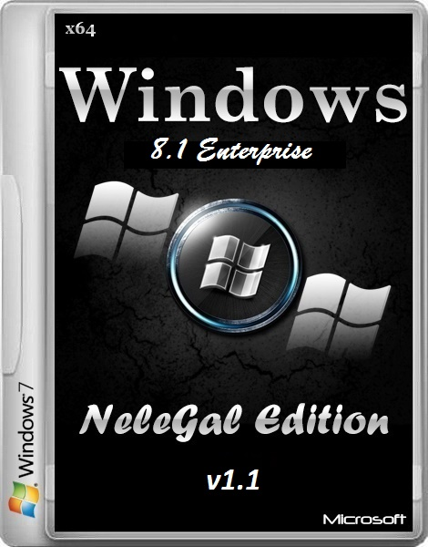 Windows 8.1 Enterprise NeleGal Edition v.1.1 (2014/x64/RUS)